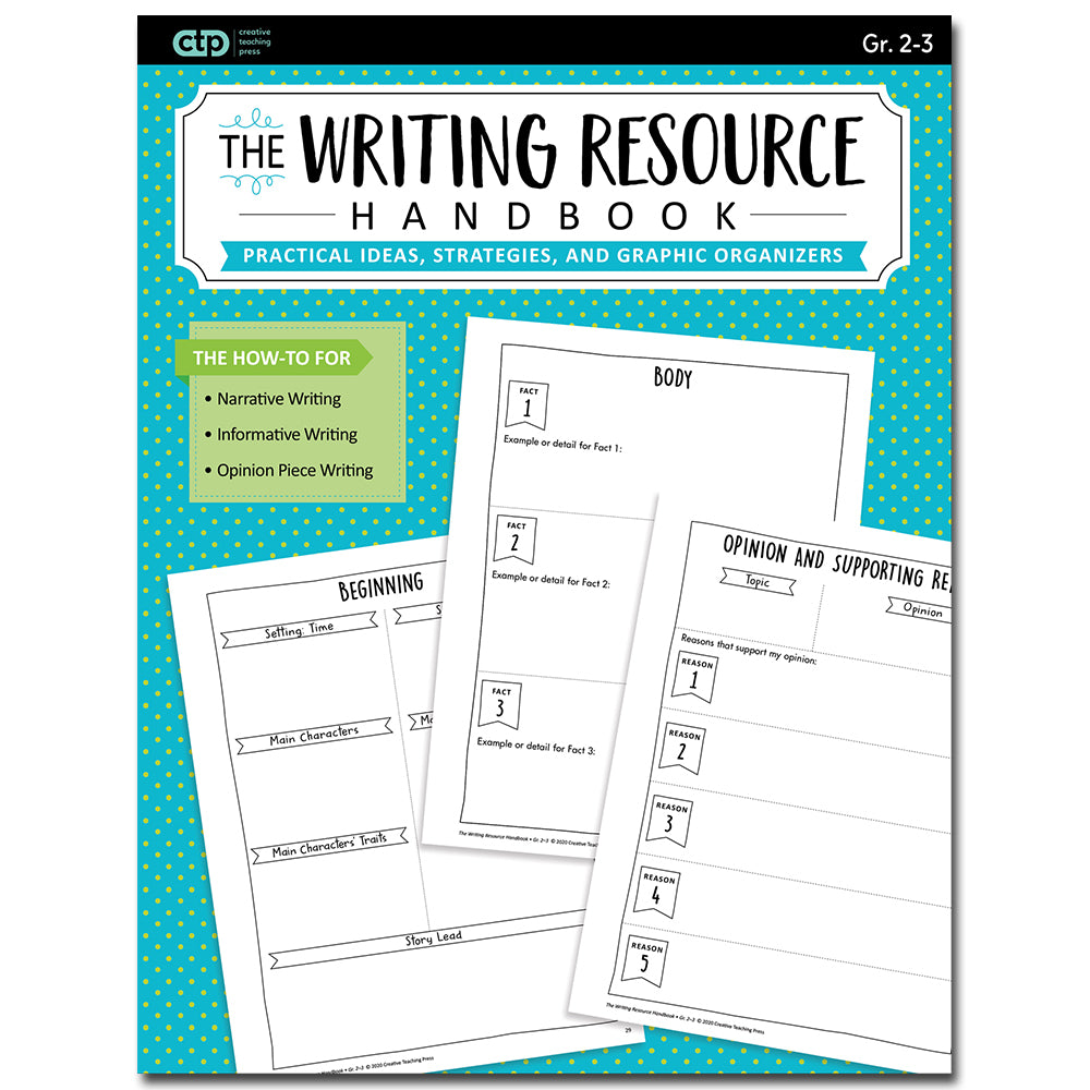 Writing Resource Handbook Gr. 2-3