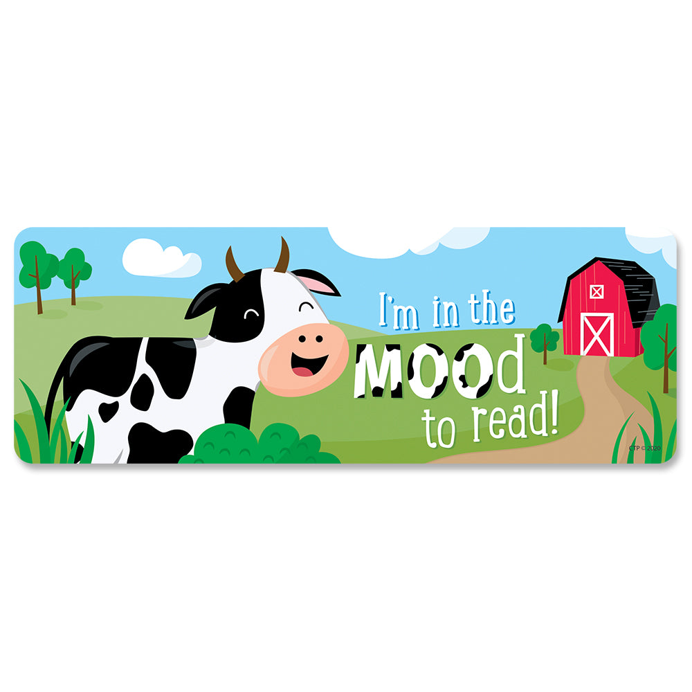 Farm Friends I'm in the MOOd to Read! Bookmarks