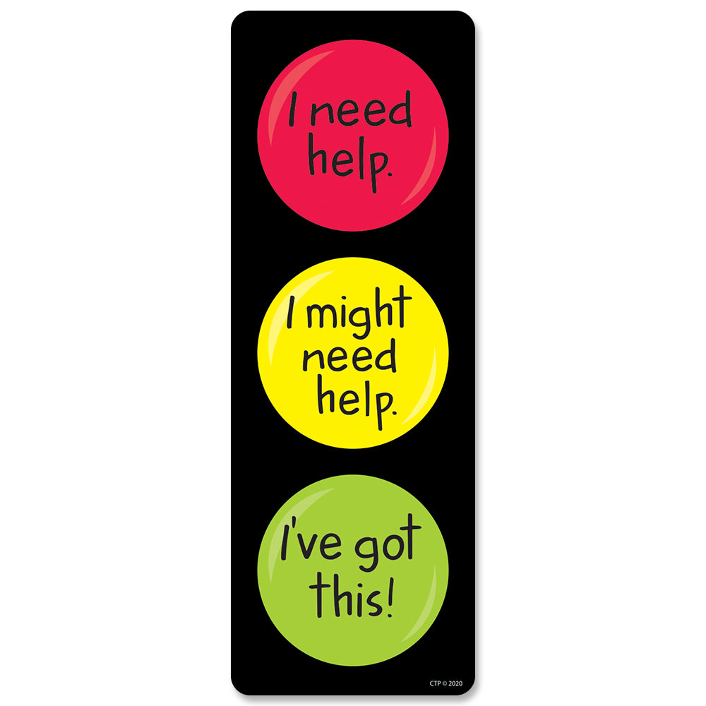 Learning Stoplight Desktop Clip Chart