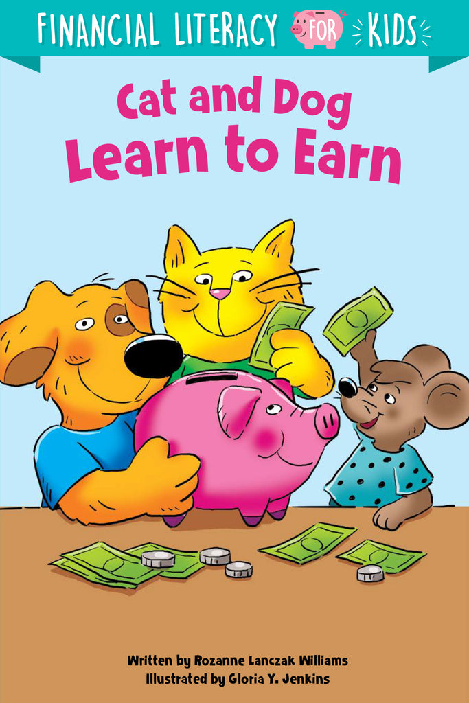 Cat and Dog Learn to Earn - eBook