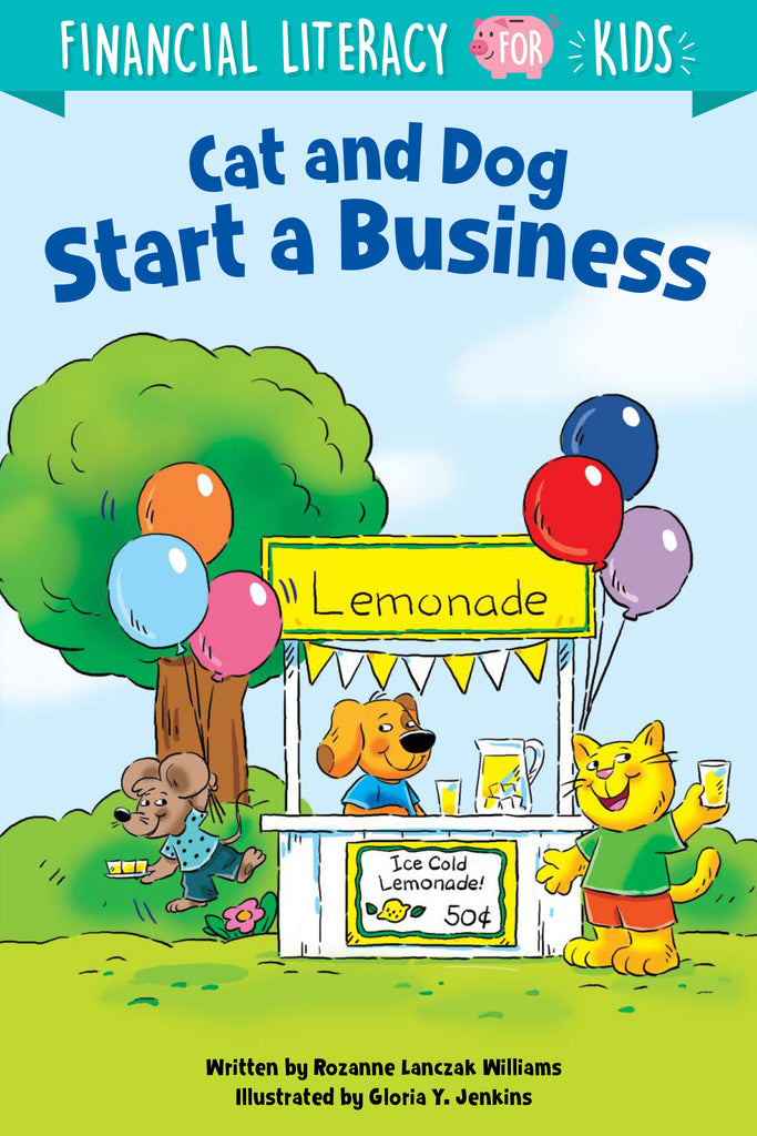 Cat and Dog Start a Business - eBook