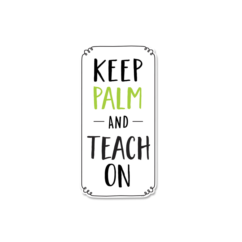 Keep Palm and Teach On Inspire U Post Free Download