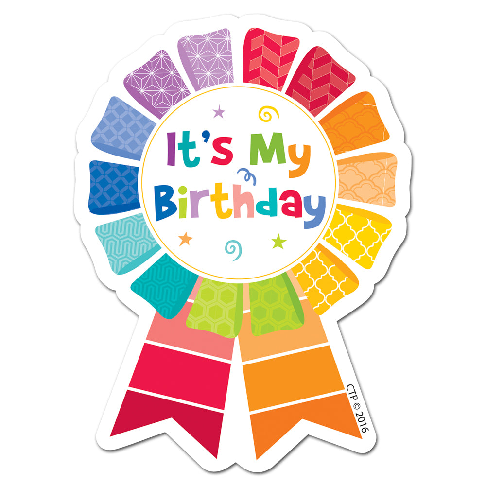 Painted Palette Happy Birthday Badge