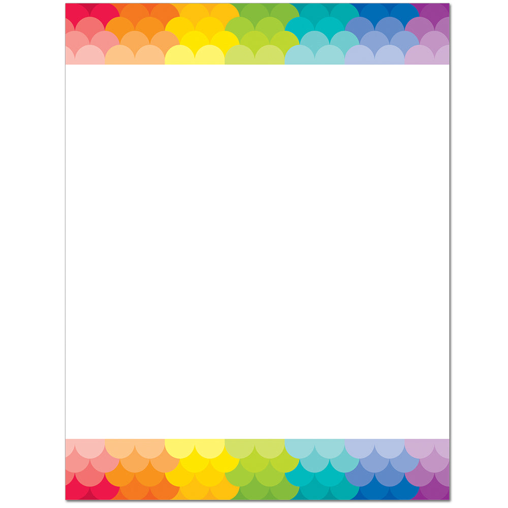 Painted Palette Blank Chart