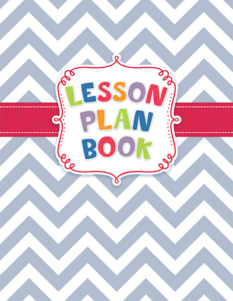 Chevron Lesson Plan Book Open eBook