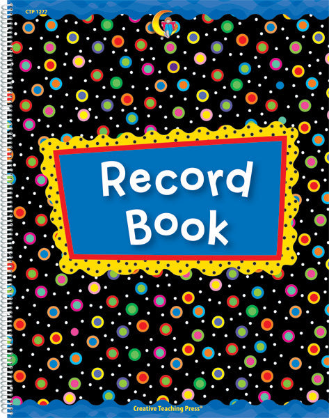 Poppin' Patterns Record Book, Open eBook