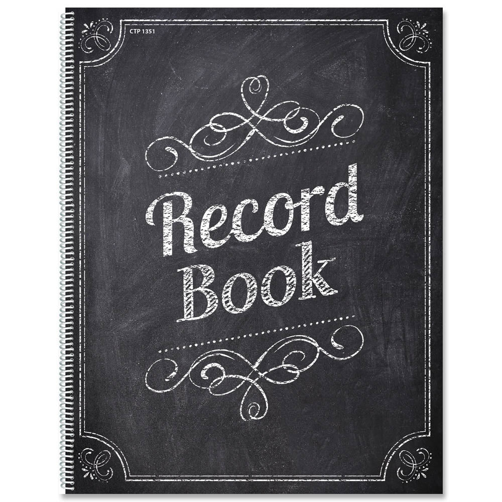 Chalk It Up! Record Book