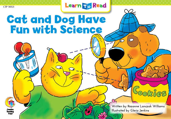 Cat and Dog Have Fun with Science