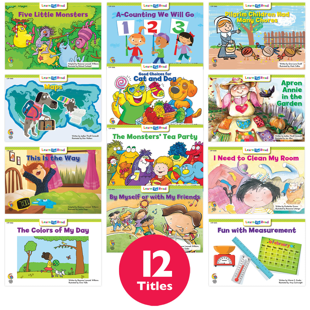 Learn to Read Variety Pack 11, Level E–F