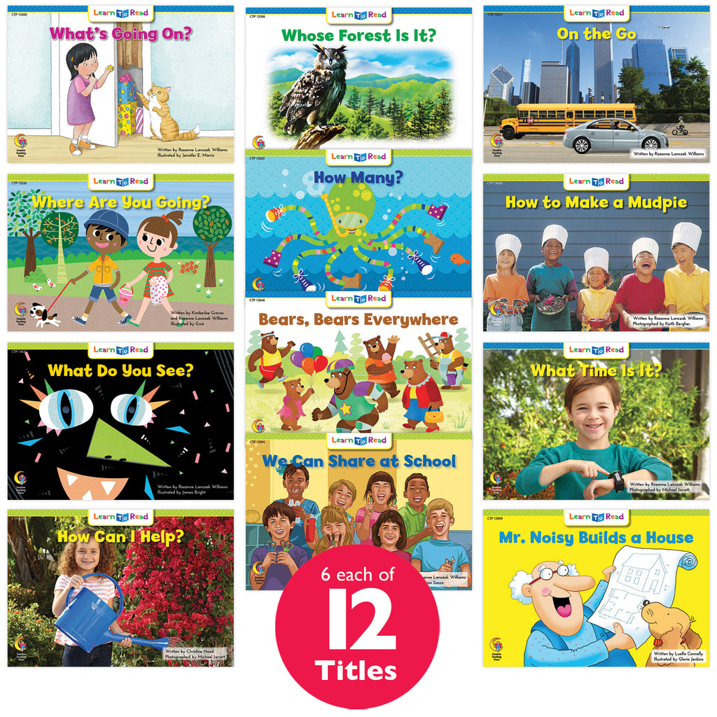 Learn to Read Classroom Pack 5, Level C–D
