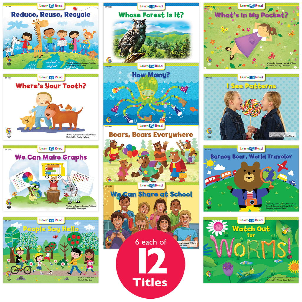 Learn to Read Classroom Pack 6, Level D