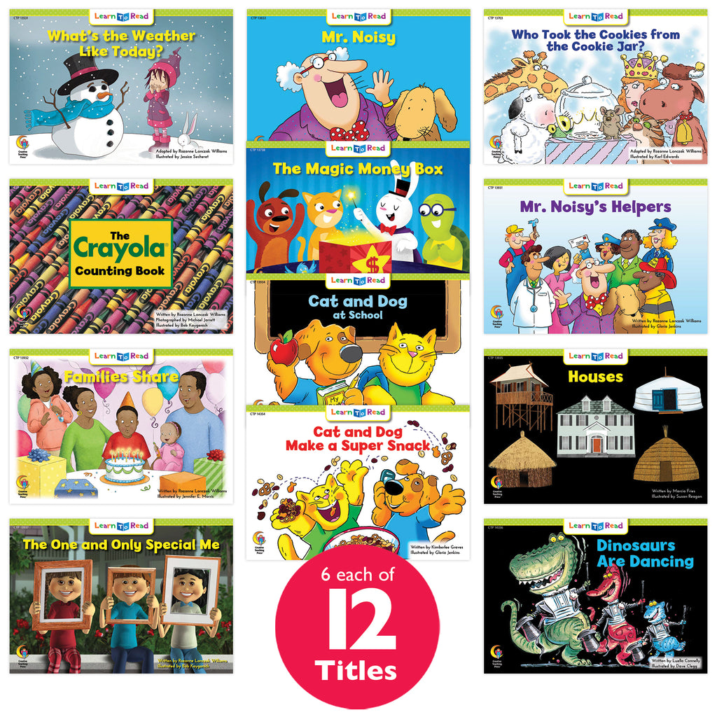 Learn to Read Classroom Pack 10, Level E