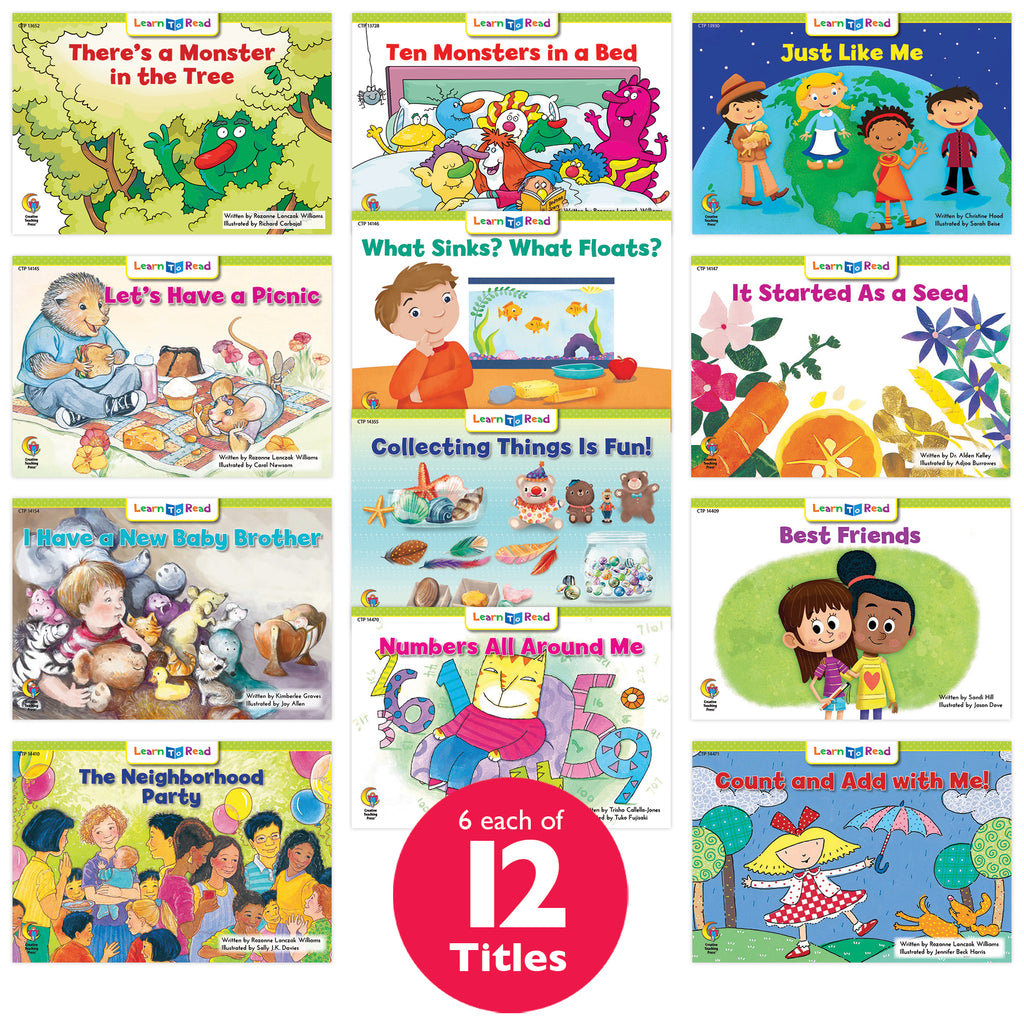 Learn to Read Classroom Pack 13, Level F