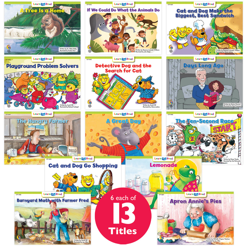 Learn to Read Classroom Pack 15, Level G–H