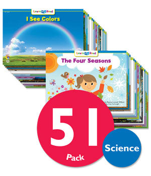 LTR Science Content Pack, Levels B–G