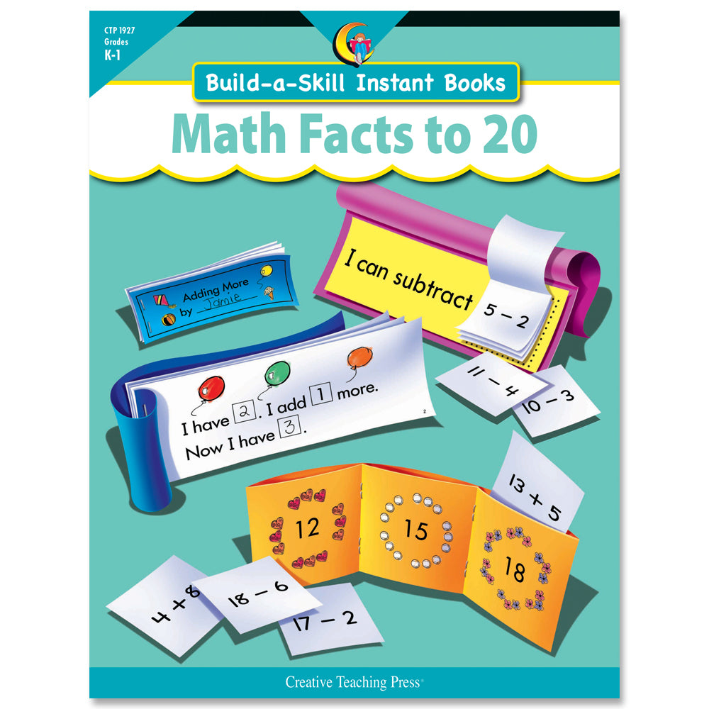 Build-a-Skill Instant Books: Math Facts to 20, eBook