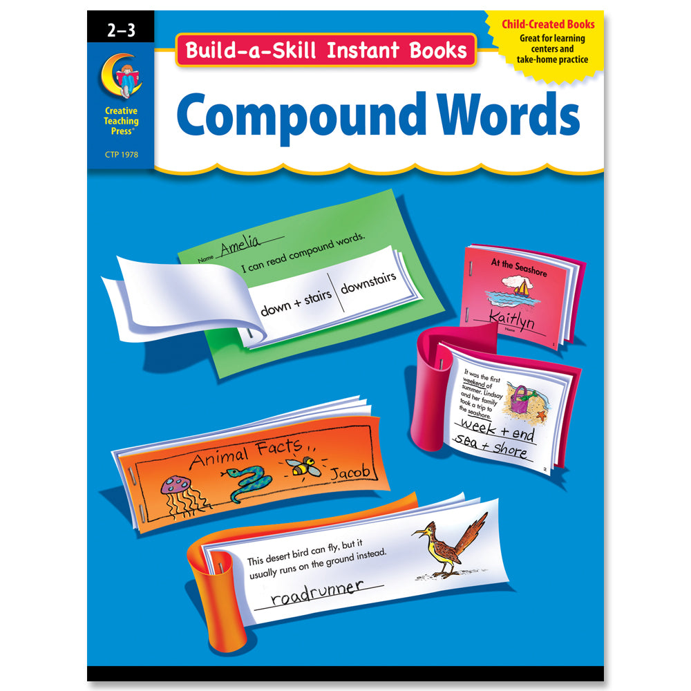 Build-a-Skill Instant Books: Compound Words, Gr. 2–3, eBook