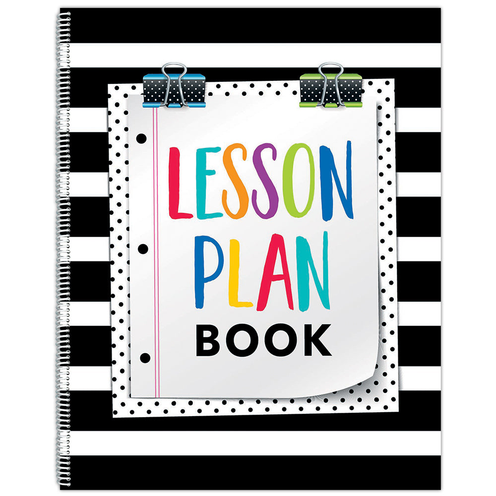 Bold & Bright Lesson Plan Book