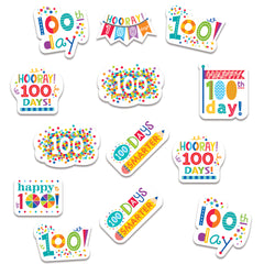 Happy 100th Day Stickers
