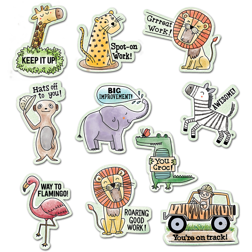 Safari Friends Safari Rewards Stickers