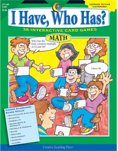 I Have, Who Has? Math, Gr. 5-6, eBook