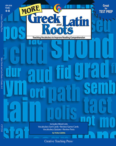 More Greek and Latin Roots, Open eBook