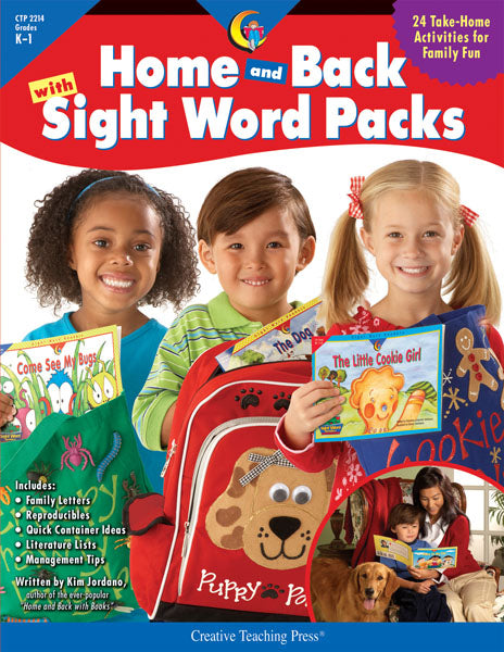 Home and Back with Sight Word Packs, eBook