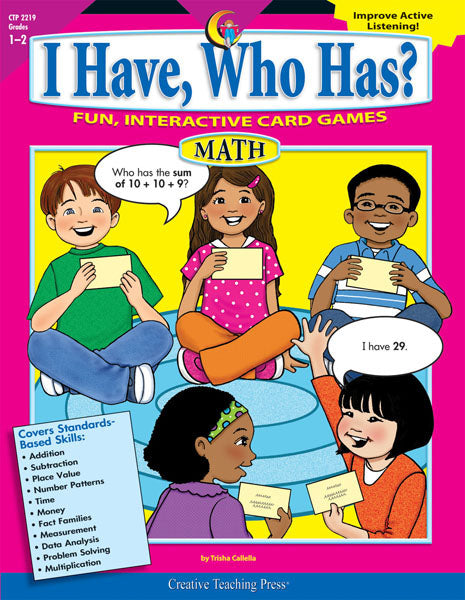 I Have, Who Has? Math, Gr. 1-2, Open eBook