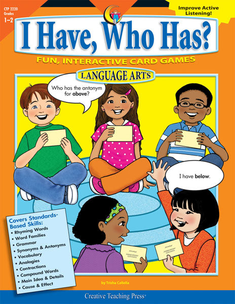 I Have, Who Has? Language Arts, Gr. 1-2, eBook