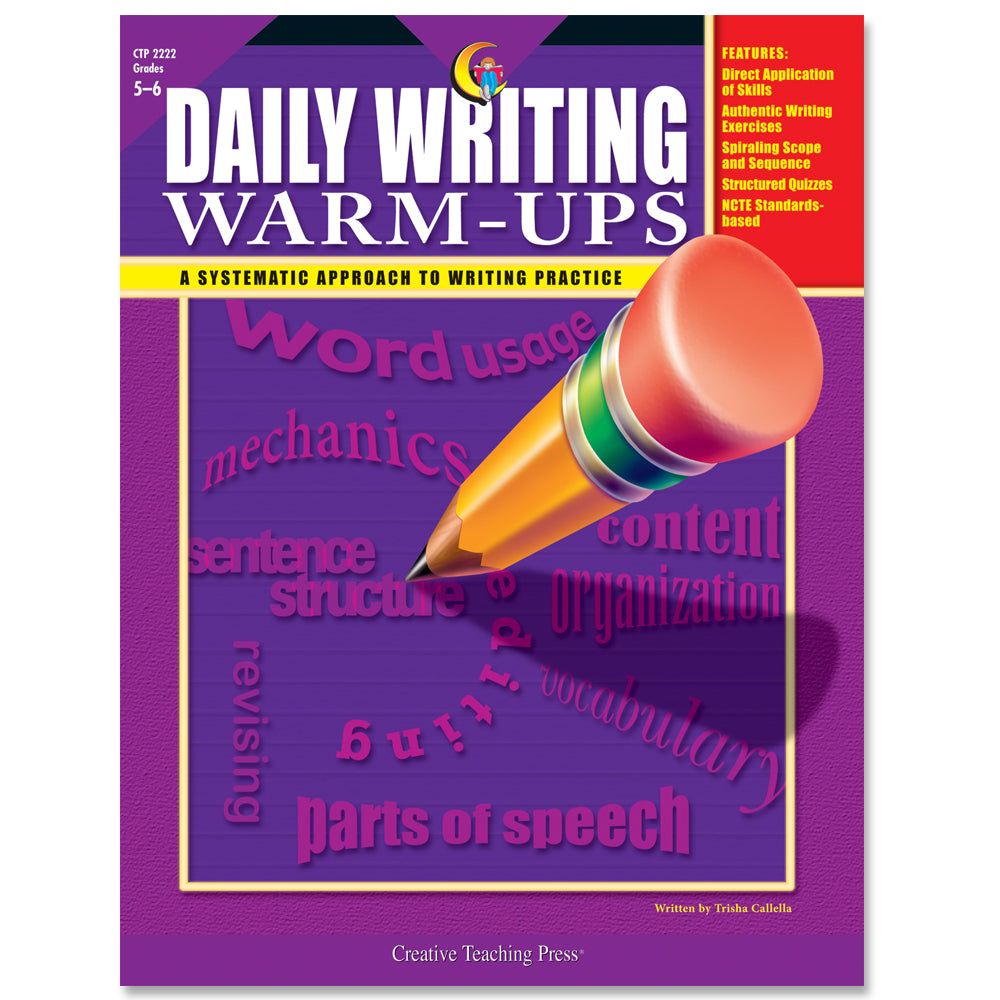 Daily Writing Warm-Ups, Gr. 5-6, eBook