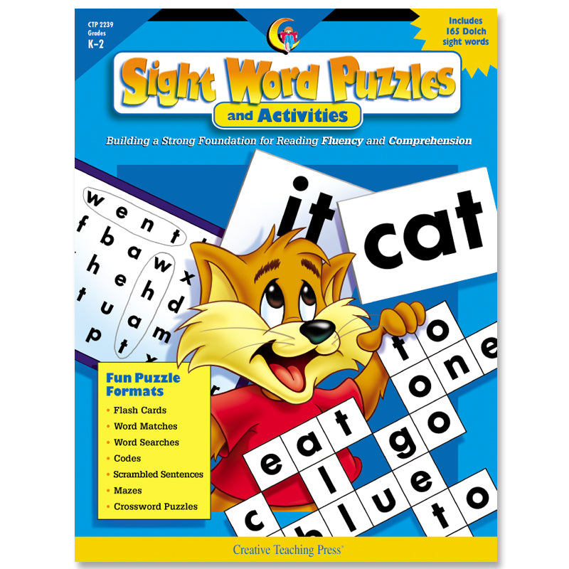 Sight Word Puzzles and Activities, eBook
