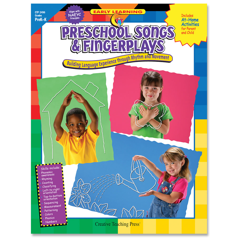 Preschool Songs & Fingerplays, eBook