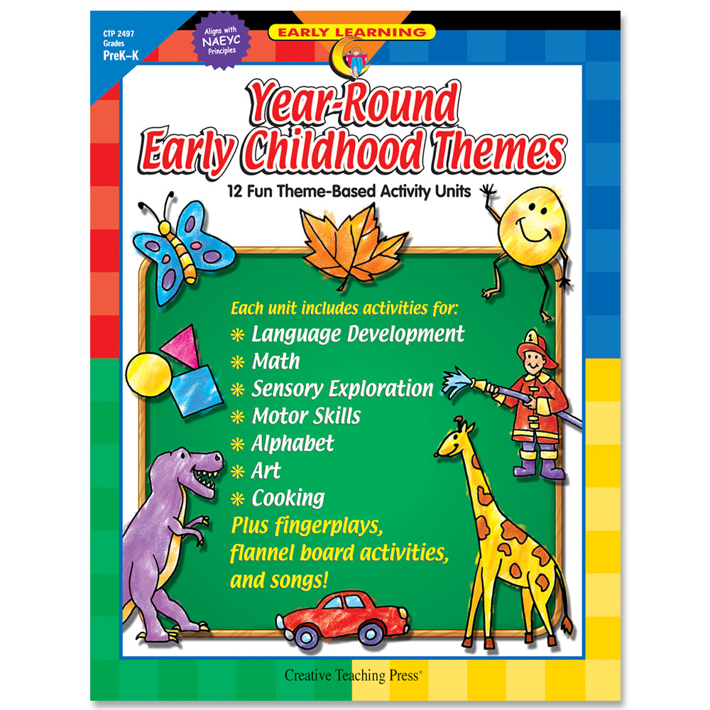Year-Round Early Childhood Themes, eBook