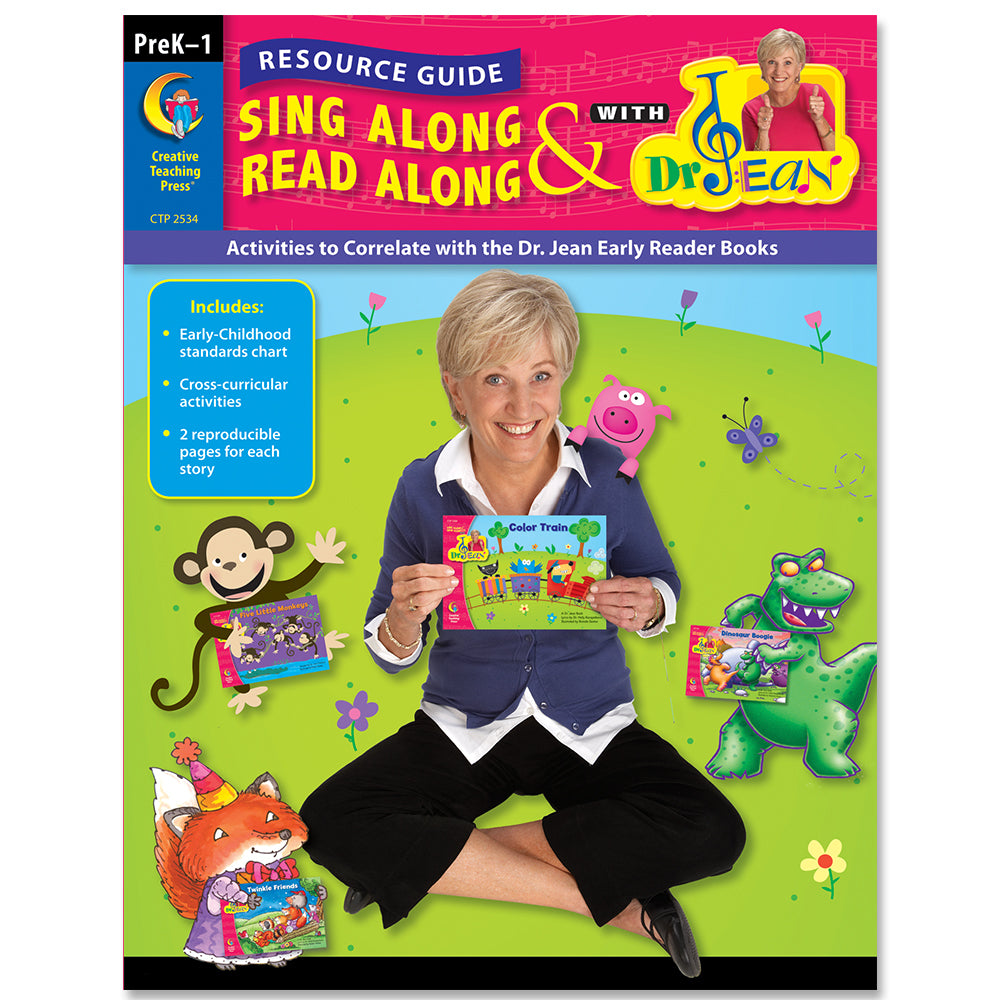 Sing Along & Read Along with Dr. Jean Resource Guide, eBook