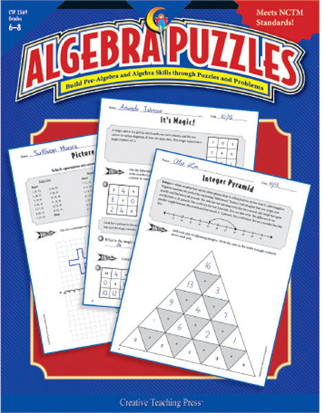 Algebra Puzzles, Open eBook