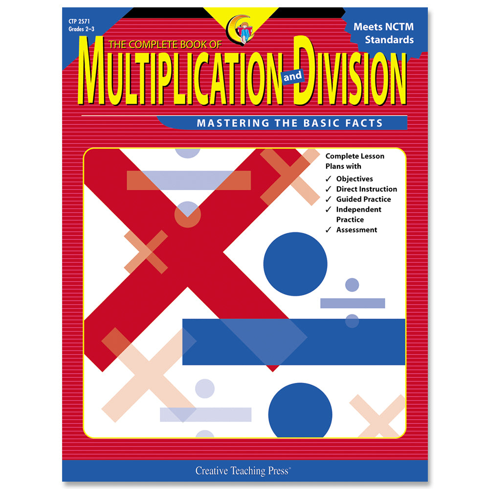 The Complete Book of Multiplication and Division, Gr. 2-3, eBook