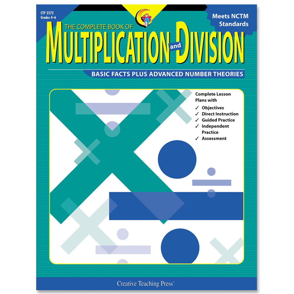 The Complete Book of Multiplication and Division, Gr. 4-6, eBook