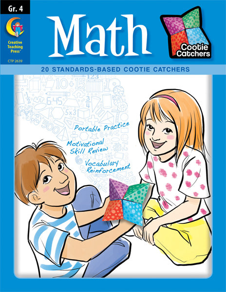 Cootie Catchers: Math, Grade 4, eBook