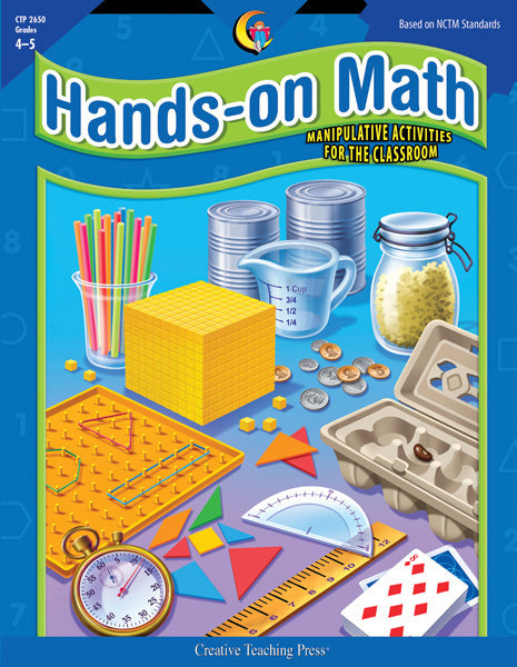 Hands-On Math, Gr. 4–5, Open eBook