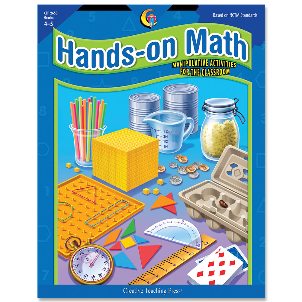 Hands-On Math, Gr. 4–5, eBook