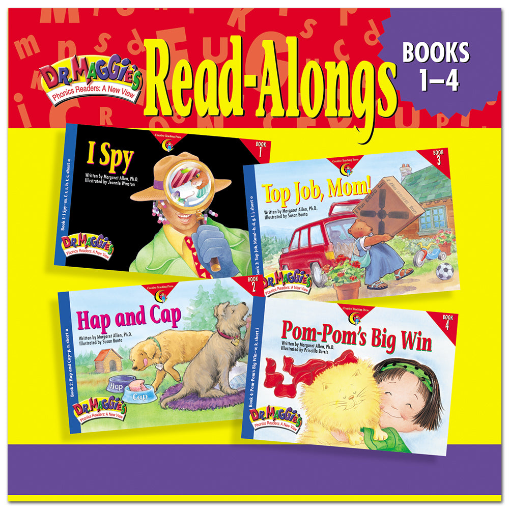Dr. Maggie's Phonics Readers Read-Along CD: Books 1-4