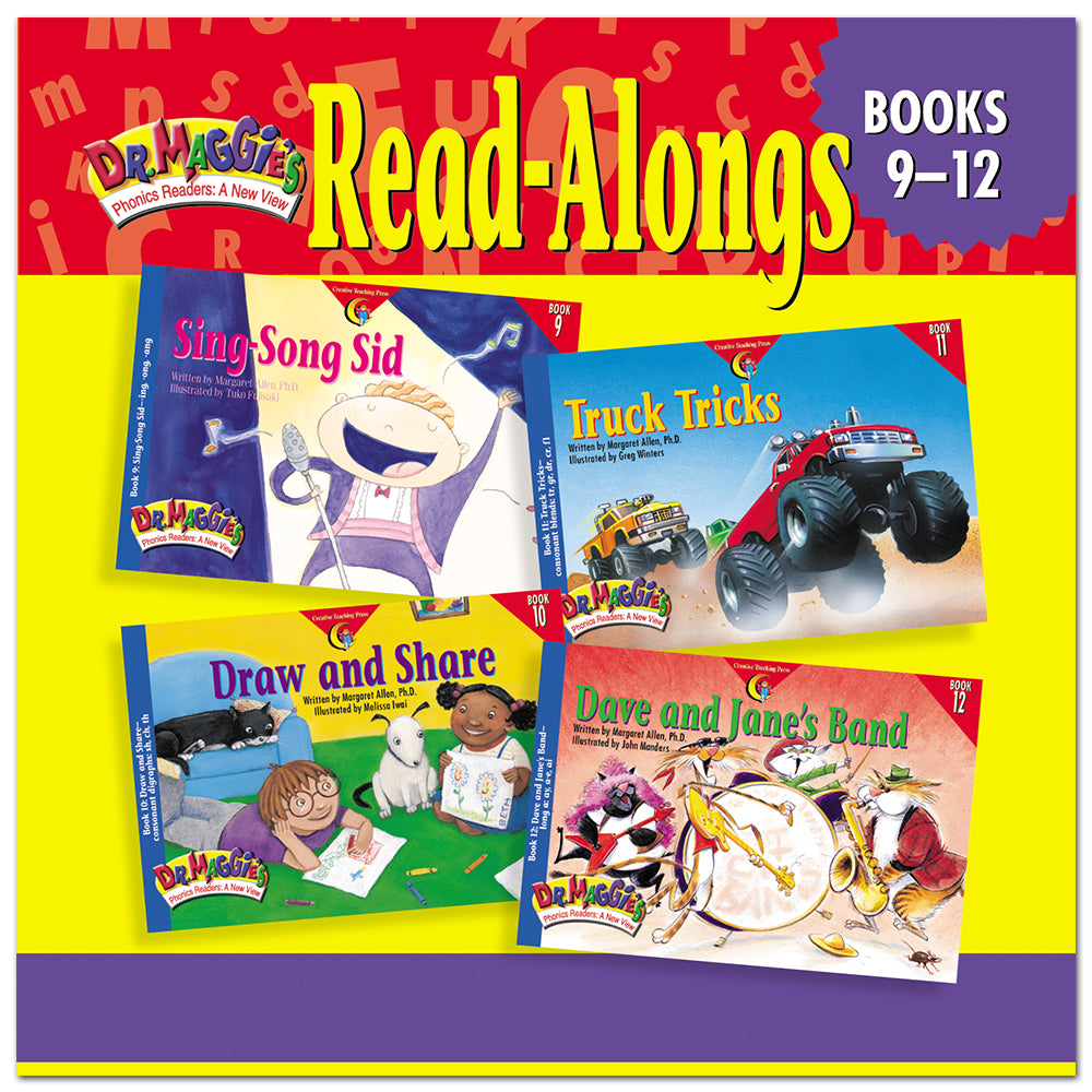 Dr. Maggie's Phonics Readers Read-Along CD: Books 9-12