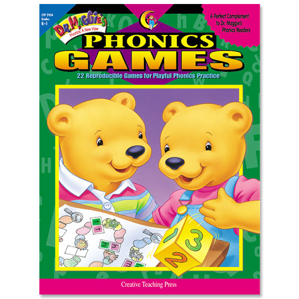 Dr. Maggie's Phonics Games, eBook
