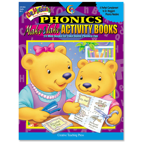 Dr. Maggie's Phonics Make & Take Activity Books, eBook