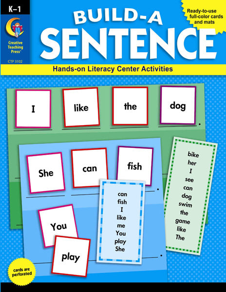 Build-a-Sentence, Open eBook