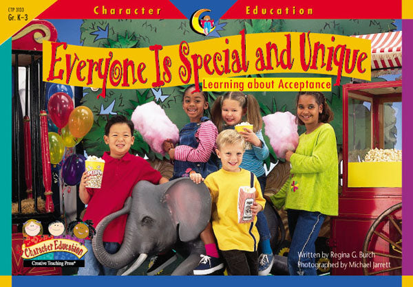 Everyone Is Special and Unique, Character Education Readers