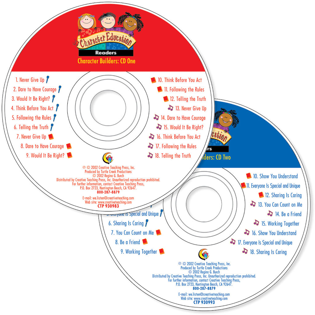 Primary Character Education Primary Variety Pack (CD) Download Only