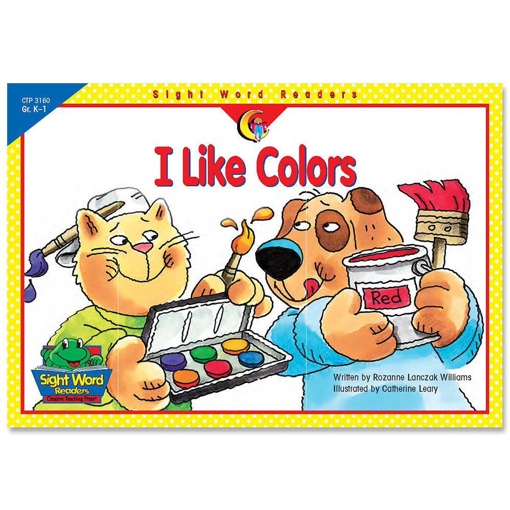I Like Colors, Sight Word Readers