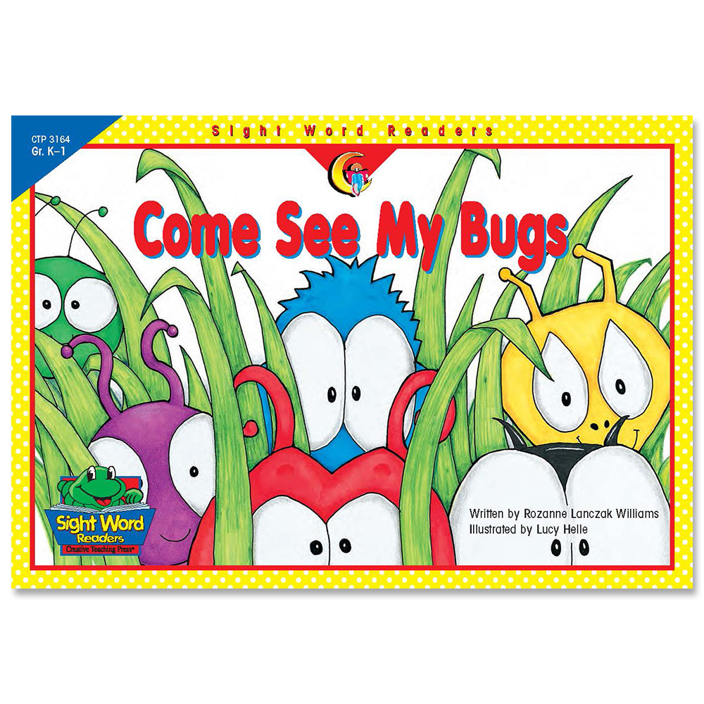 Come See My Bugs, Sight Word Readers