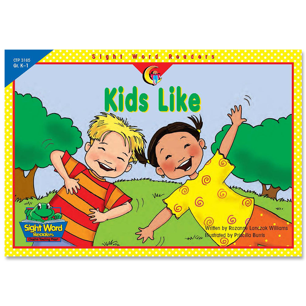 Kids Like, Sight Word Readers
